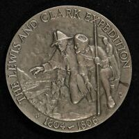 LEWIS AND CLARK  3D COIN STERLING SILVER   RARE