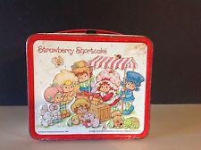Vintage 1981 Strawberry Shortcake Aladdin Lunchbox American Greetings No Thermos