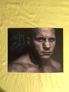 Fedor Emelianenko Signed 8x10 COA Bellator MMA Picture Autograph strike force