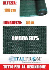 Rete Ombreggiante 90% Telo Ombra 50x1h Frangivento Frangivista Verde Italfrom