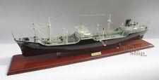 """Texaco Ohio Oil Tanker 34"""" Handmade Wooden Oil Tanker Ship Model NEW"""
