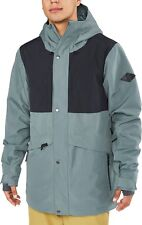 Dakine WYEAST Mens Zip/Snap Front Hoodie Jacket Large Balsam NEW 2019 Sample