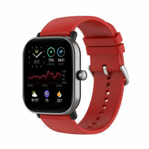 For Huami AmazfitGTS2/2e Silicone Watch Band Strap TPU Cover Full Screen Case