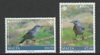 Malta 2019 CEPT Europa Birds 2 MNH stamps