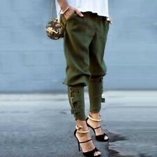 d876c376abf96 UK STOCK Womens Elastic High Wiast Military Camo Fit Pants Trousers Combat  Cargo