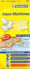 Carte Michelin locale Alpes-Maritimes n° 341 (En Français) Neuve
