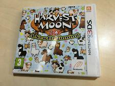 HARVEST MOON 3d A new beginning Nintendo 3DS Box Only