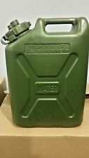 GREEN Water Can LC Industries  Jerry Water Cans MILITARY (5-Gallon) Camping  New