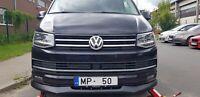 For VW T6 Front SE bumper valance chin spoiler lip splitter