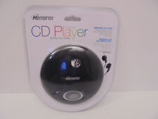 New & Sealed Memorex Personal Cd Player Md6451Blk + Earbuds Portable
