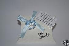 Gastgeschenke / Bomboniere - Zur Taufe  in blau