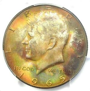 1965 Kennedy Half Dollar 50C Coin - PCGS MS67 - Rare in MS67 - $2,750 Value!
