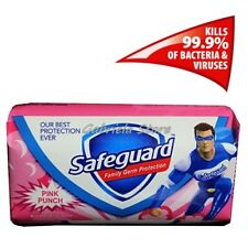 Safeguard Pink Punch Hand Bar Soap Soft Care Germ Protection 90 g New