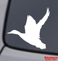 DUCK Vinyl Decal Sticker Car Window Wall Bumper Bird Hunting Animal Love Funny