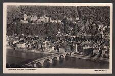 220 P  Ansichtskarte  AK  Heidelberg   Blick vom Philosophenweg     BW