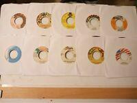 "Reggae Oldies / Dancehall 7"" Vinyl Lot #1 Free Shipping"