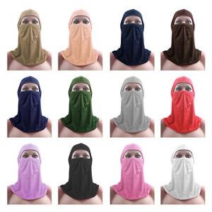 Women Muslim Bandana Scarf Islamic Niqab Burqa Bonnet Hijab Cap Veil Headwear