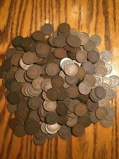 1890's-1900's Indian Head Penny Cent Roll of 50 Coins- Full Dates & Rims Gd-Fine
