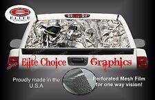 Bow Reaper Snow Camo Camo Rear Window Graphic Decal Sticker Truck Van Car