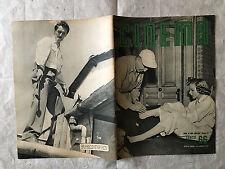 RIVISTA CINEMA 66 7/1951 COPERTINA G. MARSHALL D. LYNN PIETRO GERMI