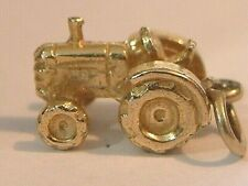 VINTAGE GOLD CHARM ~ 9ct Gold  Tractor 🚜  vintage TRACTOR 🚜 1978 massey fergie