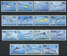 Jungferninseln Virgin Isl 1997 Fische Fishes Poissons Pesci 875-889 Postfrisch