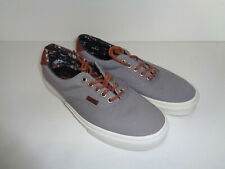 VANS Authentic ERA 59 Mens Trainers Navy Casual Retro Skate Shoes New Size 7