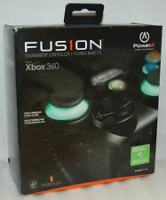 Power A Fusion Tournament Controller Xbox 360 LIGHT-UP LED Buttons glow fus1on A