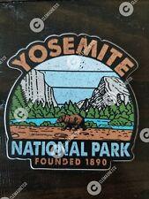 Yosemite National Park STICKER - Founded 1890 Hiking Outdoor Waterproof Vinyl