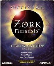 ZORK NEMESIS, The Official Strategy Guide, USED Book