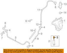 PORSCHE OEM Panamera Washer-Headlight Head Light-Spray Jet Right 97062825250