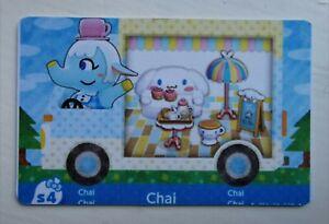 Chai RV Animal Crossing NfC Handmade Amiibo card