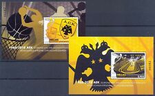 Greece 2018 50th Anniversary since AEK win Basketball Cup block issue. MNH XF