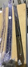 60 61 62 63 64 65 66 Chevy Pickup Truck Door Sill Scuff Plates Pair Stainless