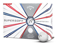 Callaway Supersoft Golf Balls - 1 Dozen White -  Mens