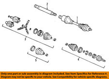 GM OEM-Front Outer CV Joint 26059844
