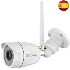 Wansview - Cámara de vigilancia wifi externa de 1080P, con visión nocturna, d