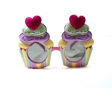 Cupcake shaped glasses,fun party glasses,cupcakes party glasses,funny! novelty!