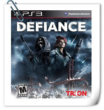 FREE GIFT! PS3 Defiance SONY Playstation Trion Worlds RPG Games
