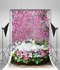 Flower Photography 5x7ft Background Flower Nest Vinyl Photo Backdrop Stage Props
