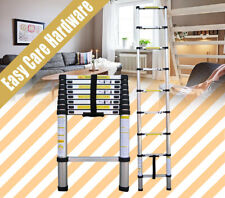 2 2.6 3.2 3.8 M Telescope Telescopic Aluminium Extension Ladder Safe 150 KG AU