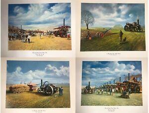 *MULTI BUY* FOUR Great Dorset Steam Fair Prints by Michael Rhys-Jenkins