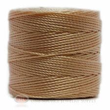 77 Yds. Super-Lon Cord #18 Natural Crafting Stringing Crochet