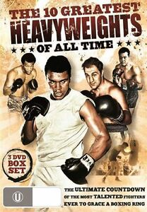 The 10 Greatest Heavyweights Of All Time (DVD, 2011, 3-Disc Set)