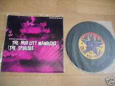 """MUD CITY MANGLERS / SPOILERS AUSSIE spilt 7"""" 500 only"""