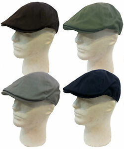 IVY Newsboy Duckbill Cabbie Golf Driving Cap Hat-Size (S/M, L/XL)