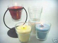 Flower Pot Votive Glass (1 Dozen)
