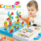 316PCS Electric Drill Puzzle Toy 3D Creative Drill Set Assembly Chrismas  %
