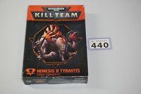 Warhammer 40k Kill Team Nemesis 9 Tyrantis - Unpainted LOT 440