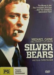 Silver Bears DVD Michael Caine Movie 1977 Cybill Shepherd - Ivan Passer Film